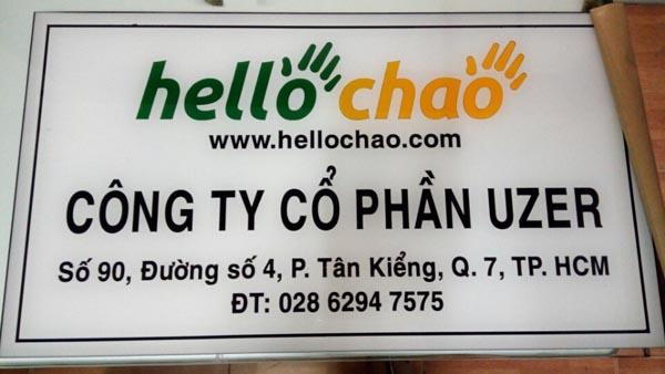 bang hieu mica in uv - Làm Bảng Hiệu Quảng cáo Tại Quận Tân Phú