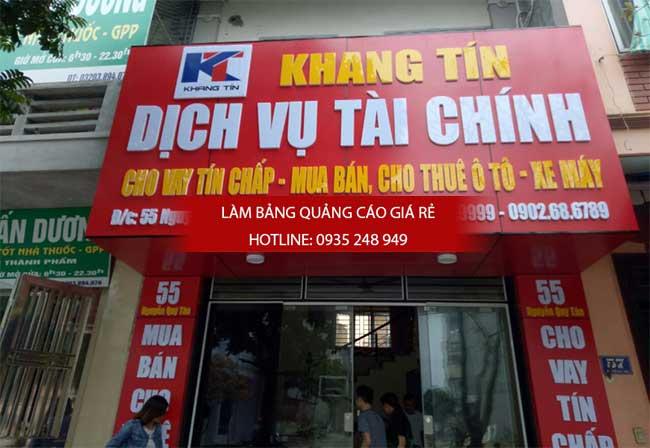 lam bang hieu alu 2 - Làm bảng hiệu alu đẹp, giá rẻ tại quận Tân Bình