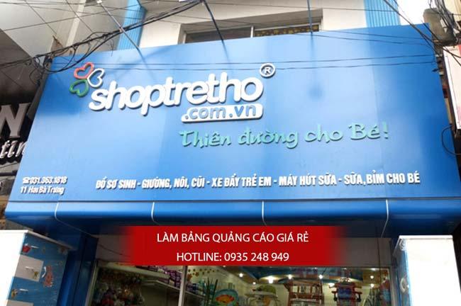 lam bang hieu alu 22 - Làm bảng hiệu alu đẹp, giá rẻ tại quận Tân Bình
