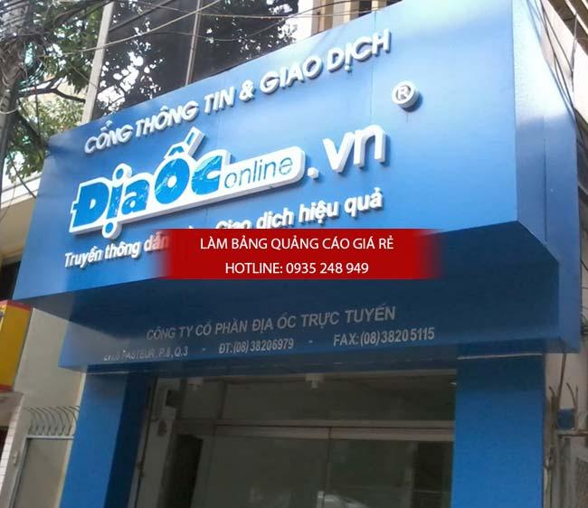 lam bang hieu alu 24 - Làm bảng hiệu alu đẹp, giá rẻ tại quận Tân Bình