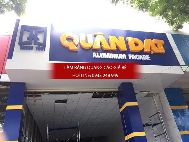 lam bang hieu alu 8 - Làm bảng hiệu alu đẹp, giá rẻ tại quận Tân Bình