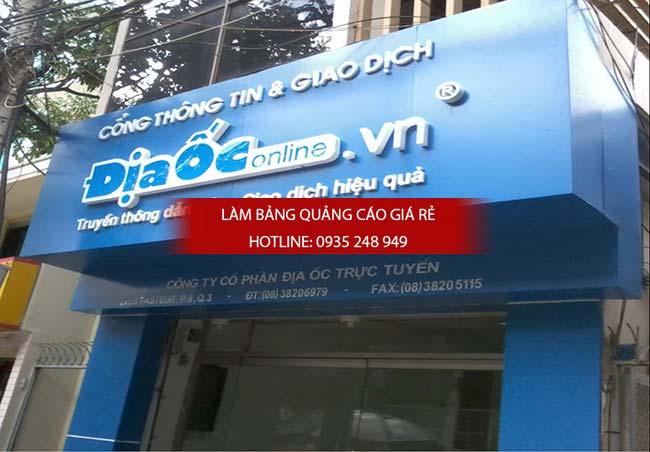 lam bang hieu quan 1 14 - Thi công biển hiệu quảng cáo giá rẻ tại quận 1