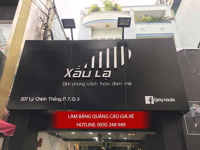 lam bang hieu quan 1 7 - Làm bảng hiệu quảng cáo đường Bình Trị Đông quận Bình Tân