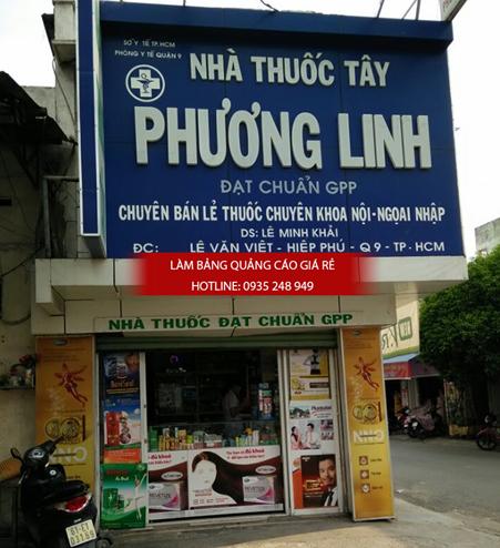 mau bang hieu nha thuoc tay dep 1 - Những mẫu bảng hiệu nhà thuốc tây đẹp nhất hiện nay
