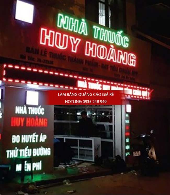 mau bang hieu nha thuoc tay dep 14 - Những mẫu bảng hiệu nhà thuốc tây đẹp nhất hiện nay