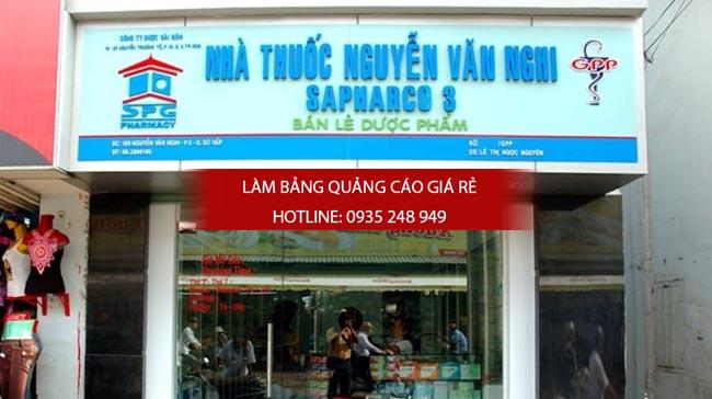mau bang hieu nha thuoc tay dep 17 - Làm bảng hiệu giá rẻ tại quận Tân Bình TPHCM