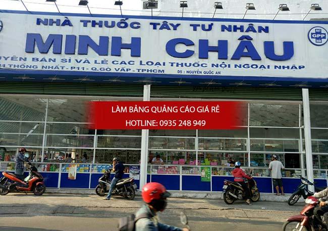 mau bang hieu nha thuoc tay dep 2 - Những mẫu bảng hiệu nhà thuốc tây đẹp nhất hiện nay