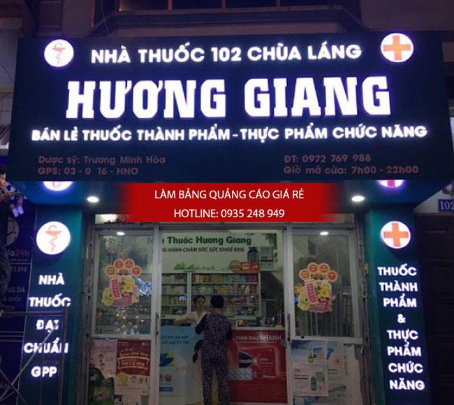 mau bang hieu nha thuoc tay dep 20 - Những mẫu bảng hiệu nhà thuốc tây đẹp nhất hiện nay