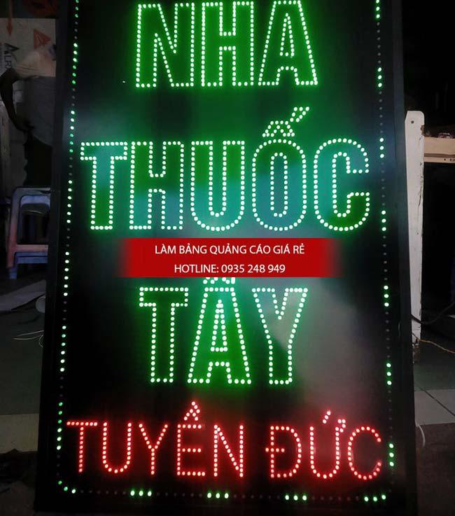 mau bang hieu nha thuoc tay dep 22 - Những mẫu bảng hiệu nhà thuốc tây đẹp nhất hiện nay