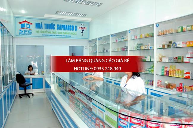 mau bang hieu nha thuoc tay dep 24 - Những mẫu bảng hiệu nhà thuốc tây đẹp nhất hiện nay