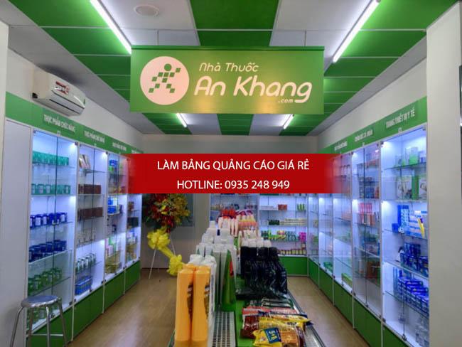 mau bang hieu nha thuoc tay dep 26 - Những mẫu bảng hiệu nhà thuốc tây đẹp nhất hiện nay