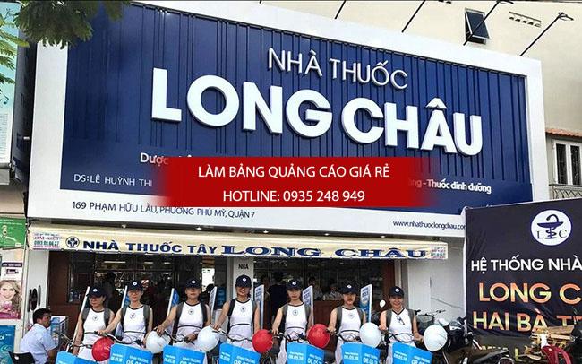 mau bang hieu nha thuoc tay dep 3 - Những mẫu bảng hiệu nhà thuốc tây đẹp nhất hiện nay