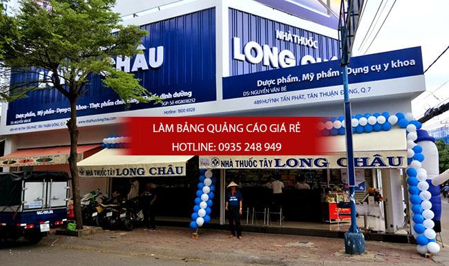mau bang hieu nha thuoc tay dep 30 - Những mẫu bảng hiệu nhà thuốc tây đẹp nhất hiện nay