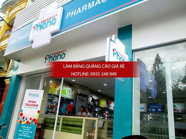 mau bang hieu nha thuoc tay dep 33 - Những mẫu bảng hiệu nhà thuốc tây đẹp nhất hiện nay