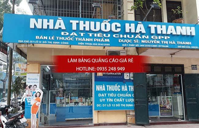 mau bang hieu nha thuoc tay dep 34 - Những mẫu bảng hiệu nhà thuốc tây đẹp nhất hiện nay