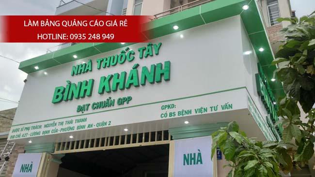 mau bang hieu nha thuoc tay dep 40 - Những mẫu bảng hiệu nhà thuốc tây đẹp nhất hiện nay