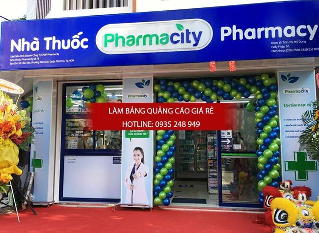 mau bang hieu nha thuoc tay dep 41 - Những mẫu bảng hiệu nhà thuốc tây đẹp nhất hiện nay