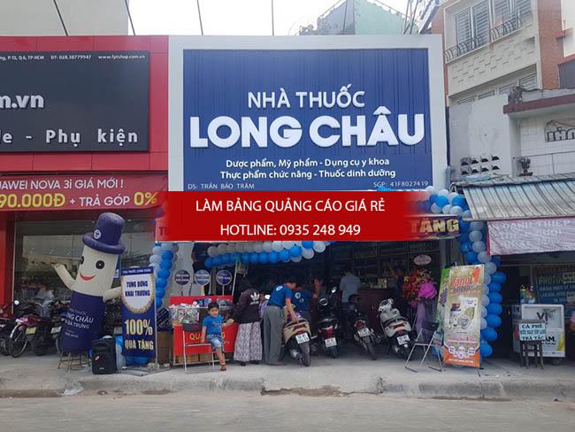 mau bang hieu nha thuoc tay dep 7 - Những mẫu bảng hiệu nhà thuốc tây đẹp nhất hiện nay