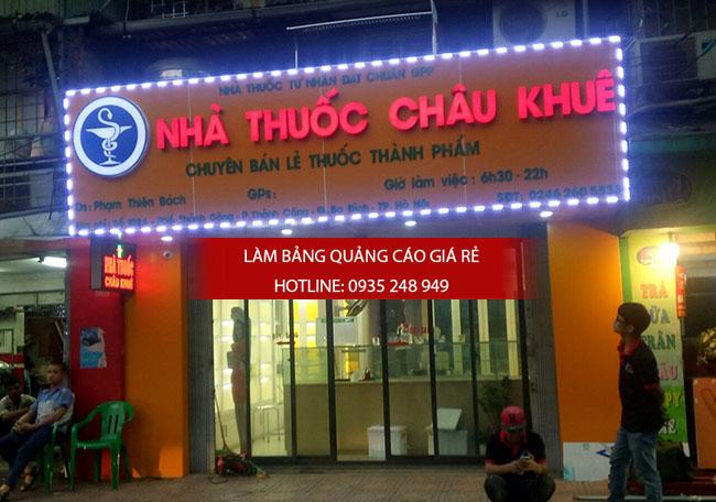 mau bang hieu nha thuoc tay dep 9 - Những mẫu bảng hiệu nhà thuốc tây đẹp nhất hiện nay