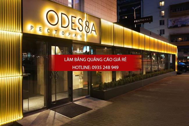 mau bien quang cao dep 2 - Làm bảng hiệu quảng cáo đường Tân Hòa Đông quận Bình Tân