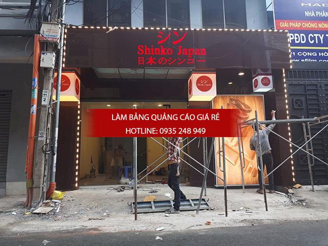 thi cong bang hieu alu 11 - Thi công quảng cáo bảng hiệu alu