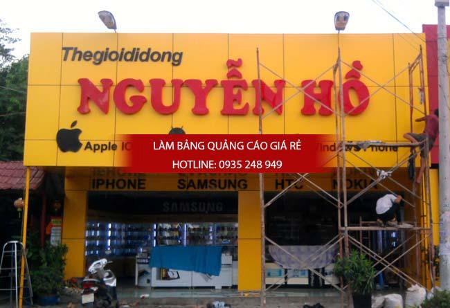 thi cong bang hieu alu 12 - Làm bảng hiệu quảng cáo giá rẻ chuyên nghiệp tại TPHCM