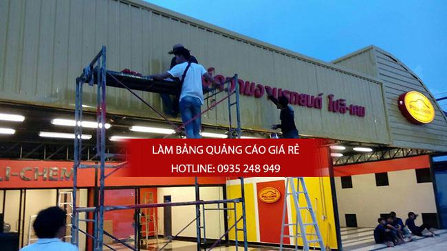 thi cong bang hieu alu 13 - Thi công quảng cáo bảng hiệu alu
