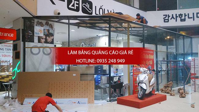 thi cong bang hieu alu 17 - Thi công quảng cáo bảng hiệu alu
