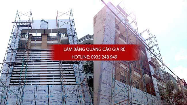thi cong bang hieu alu 24 - Làm bảng hiệu quảng cáo giá rẻ tại đường Hậu Giang quận 6