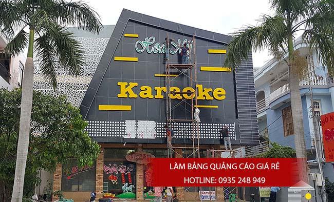 thi cong bang hieu alu 7 - Thi công quảng cáo bảng hiệu alu