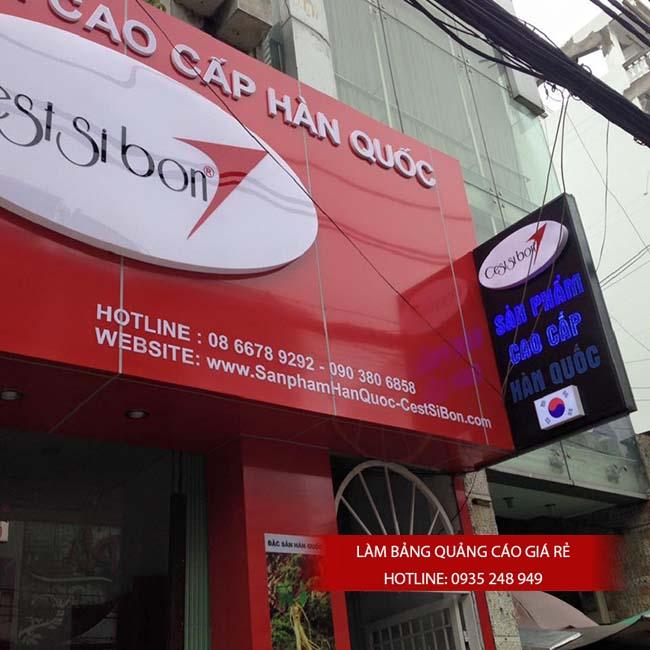 lam bang hieu quang cao gia re 2 - Làm bảng hiệu quảng cáo giá rẻ chuyên nghiệp tại TPHCM