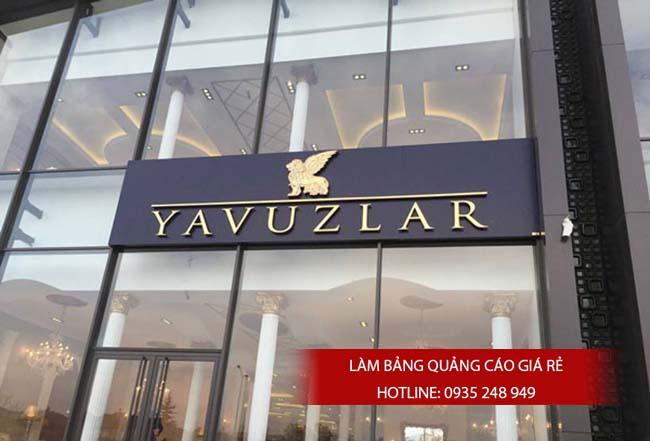 lam bang hieu quang cao gia re 4 - Làm bảng hiệu quảng cáo giá rẻ chuyên nghiệp tại TPHCM