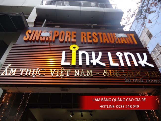 lam bang hieu quang cao gia re 6 - Làm bảng hiệu quảng cáo giá rẻ chuyên nghiệp tại TPHCM
