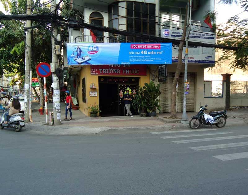 treo bang ron quang cao 7 - Làm bảng hiệu quảng cáo đường Tân Hòa Đông quận Bình Tân