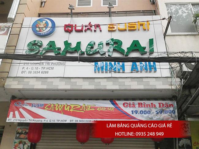 bang hieu quang cao dep 11 - Làm bảng hiệu tại đường Nguyễn Sơn quận Tân Phú