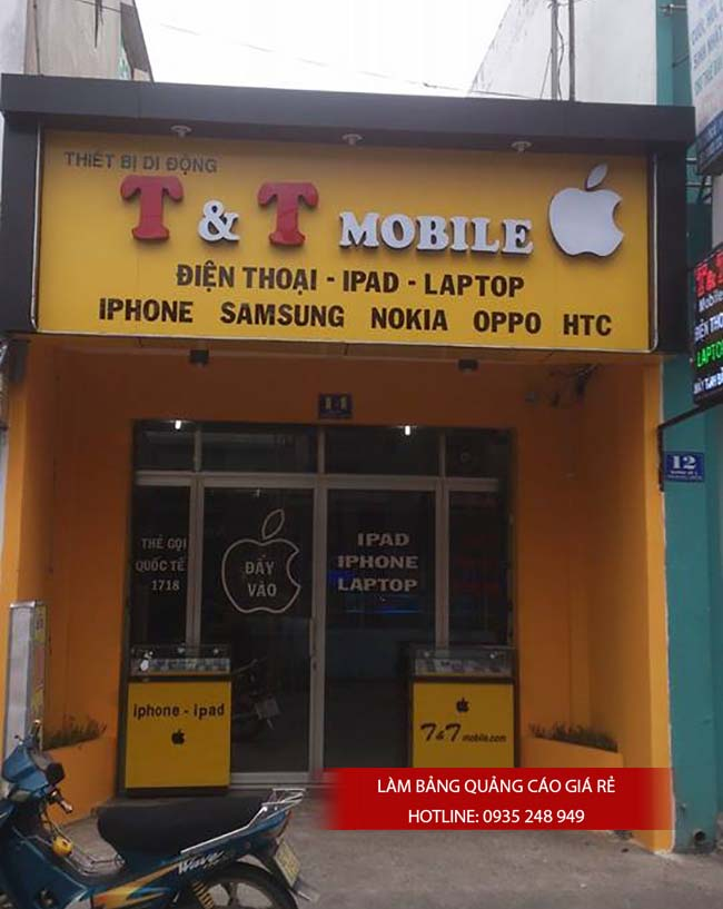 bang hieu quang cao dep 115 - Làm bảng hiệu tại đường Nguyễn Sơn quận Tân Phú