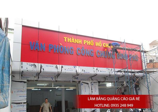 bang hieu quang cao dep 12 - Làm bảng hiệu tại đường Nguyễn Sơn quận Tân Phú