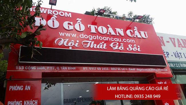 bang hieu quang cao dep 14 - Làm bảng hiệu tại đường Nguyễn Sơn quận Tân Phú