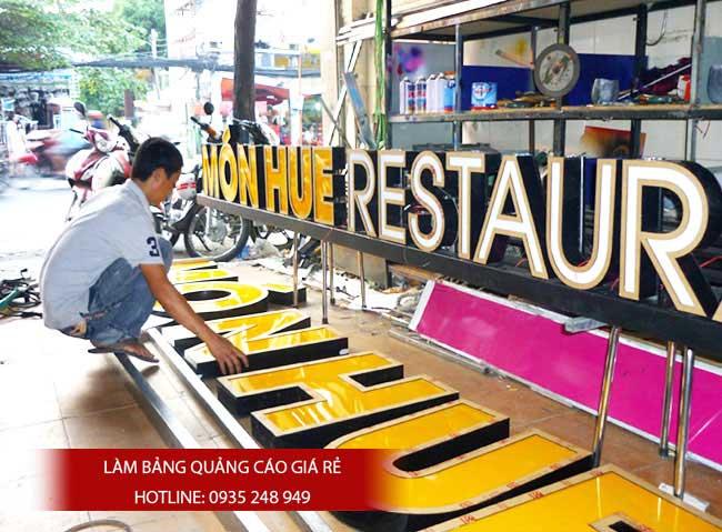 bang hieu quang cao dep 22 - Làm bảng hiệu tại đường Nguyễn Sơn quận Tân Phú