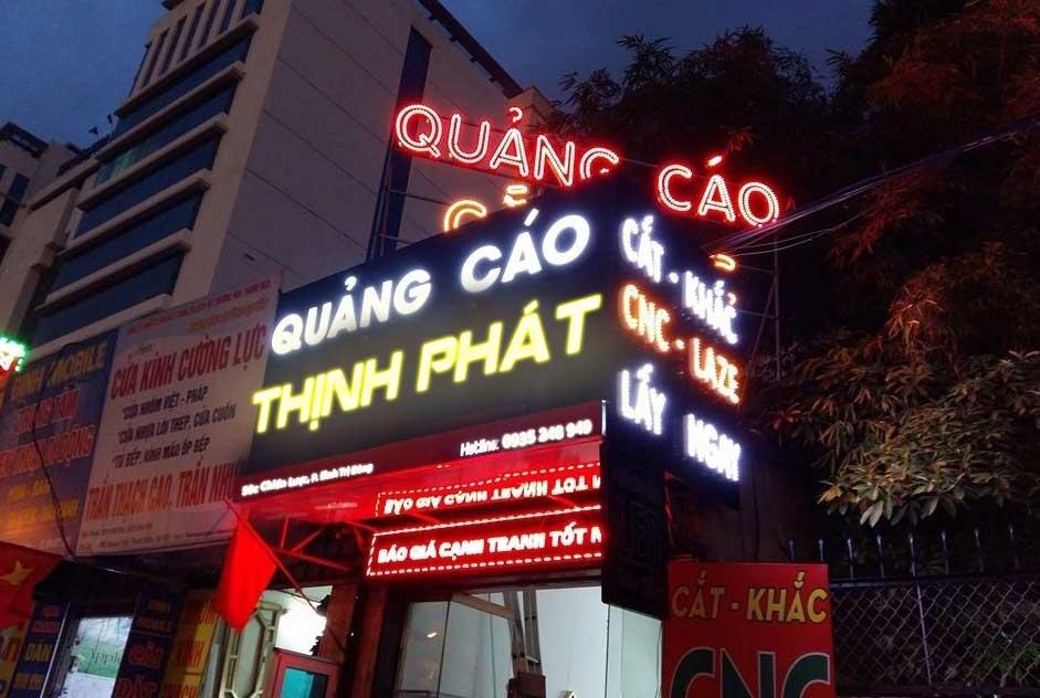 bang hieu quang cao dep 79 - Làm bảng hiệu quảng cáo tại đường Bà Hom quận Bình Tân