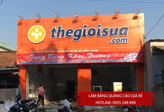 bang hieu quang cao dep 87 - Làm bảng hiệu quảng cáo tại đường Bà Hom quận Bình Tân