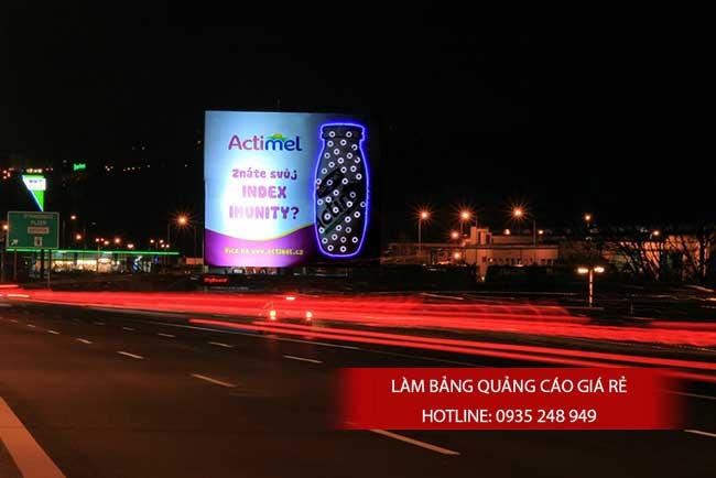 Bảng quảng cáo đèn Led đẹp