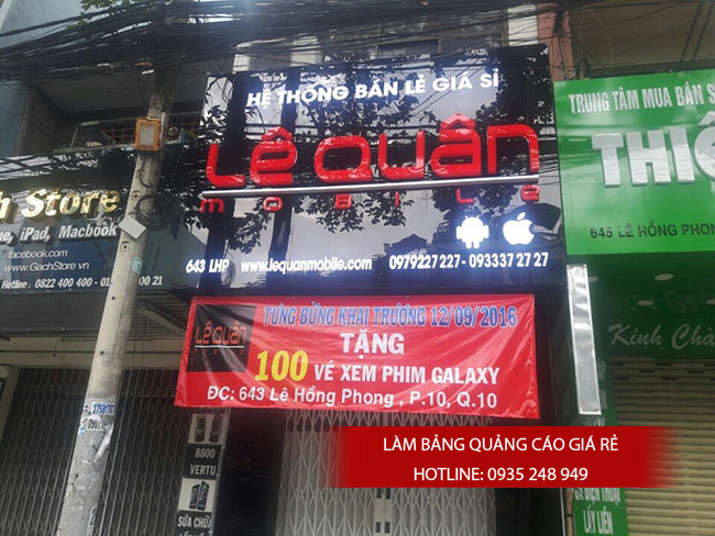 lam bang quang cao gia re 18 - Làm bảng quảng cáo tại đường Trương Phước Phan quận Bình Tân