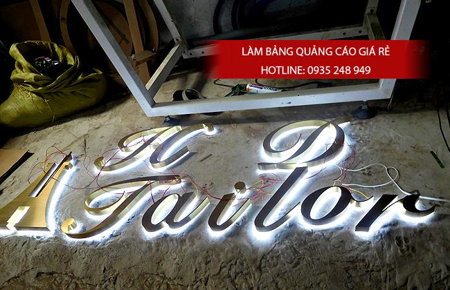 lam chu noi inox 1 - # Làm chữ nổi inox giá rẻ quận Bình Tân và quận Tân Phú