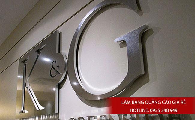 lam chu noi inox 10 - # Làm chữ nổi inox giá rẻ quận Bình Tân và quận Tân Phú