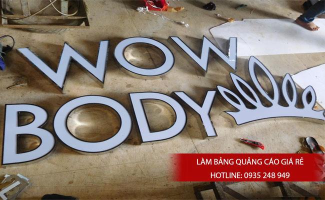 lam chu noi inox 11 - # Làm chữ nổi inox giá rẻ quận Bình Tân và quận Tân Phú
