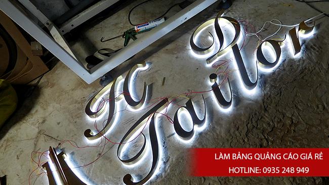 lam chu noi inox 2 - # Làm chữ nổi inox giá rẻ quận Bình Tân và quận Tân Phú