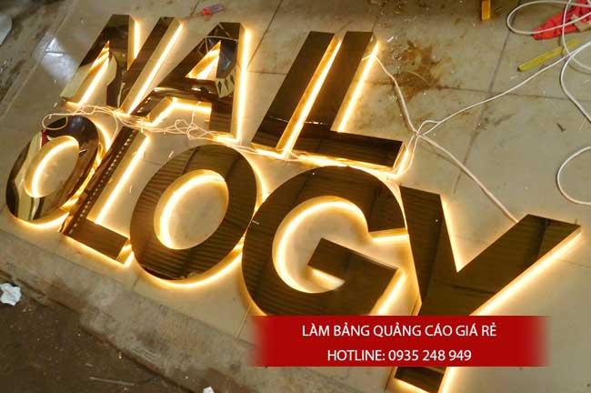lam chu noi inox 3 - # Làm chữ nổi inox giá rẻ quận Bình Tân và quận Tân Phú