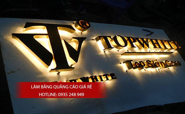lam chu noi inox 5 - # Làm chữ nổi inox giá rẻ quận Bình Tân và quận Tân Phú