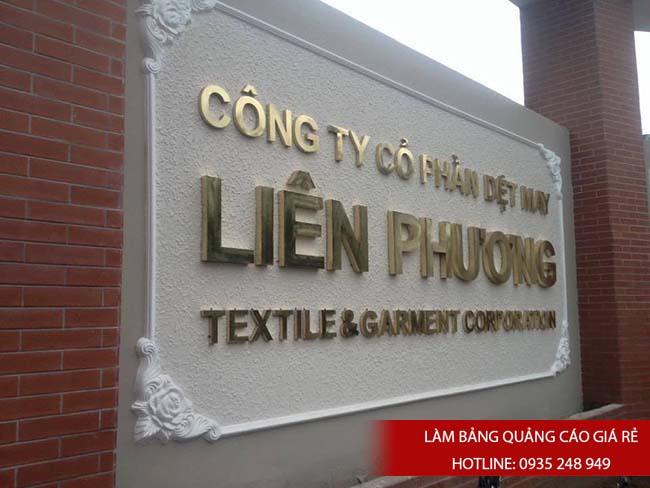 lam chu noi inox 6 - # Làm chữ nổi inox giá rẻ quận Bình Tân và quận Tân Phú